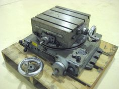 ROTARY TABLES: Advance Cross Slide Rotary Table 11 in. x 11 in. Indexer Mill, T-SLOTTED