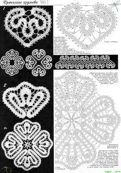 View album on Yandex. Crochet Mandala, Crochet Art, Tapestry Crochet, Crochet Motif, Crochet Doilies, Crochet Stitches, Crochet Edging Patterns, Bobbin Lace Patterns, Crochet Diagram