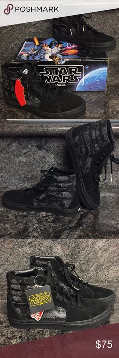 46bacda8b0 Vans SK8-HI Star Wars Dark Side Shoes Vans SK8-HI Star Wars Dark