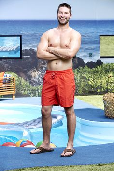 Big Brother 17 backyard picture of Jeff Weldon.