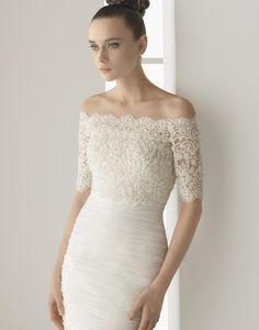 irish wedding   irish-wedding-dress-designers-sheath-rosa-clara-wedding-dresses-49334 ...