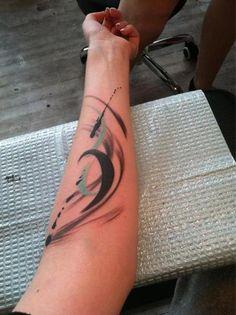 My first tattoo done by Amanda Wachob in Brooklyn, NY.
