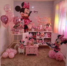 baby shower ideas for boys; Indian Birthday Parties, Ballerina Birthday Parties, Birthday Party Themes, Minnie Mouse Birthday Decorations, Minnie Birthday, Baby Shower Menu, Kids Party Themes, Baby Shower Princess, Khaleesi