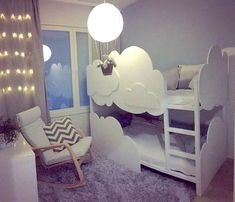 Redesigning the Ikea Kura bed: 35 great ideas for adventurous children's beds – Kids Room 2020
