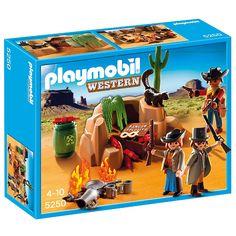 Playmobil Western Kryjówka bandytów, 5250, klocki