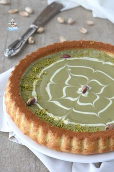 Torte Cake, Cake & Co, I Love Food, Good Food, Friend Recipe, Italian Cake, Food Decoration, Pistachio, Nutella