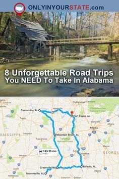 Travel | Alabama | Road Trips | Bucket List | Places To See | Amazing Places | Explore Alabama
