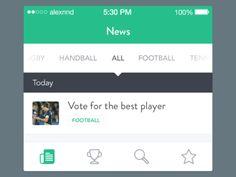 33 Best Sub Navigation Images App Design Mobile Design Navigation