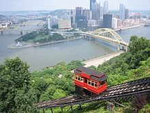 Duquesne Incline. When I was a kid, Pittsburgh looked like the universe from here.