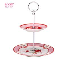 Room Seven Tableware ~ 2-tier Cakestand | SimplyDutch.com