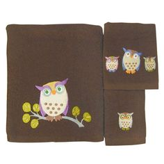 Allure Home Creations Awesome Owls 100-Percent Cotton 3-Piece Towel Set Allure Home Creations,http://www.amazon.com/dp/B003VVTJ3E/ref=cm_sw_r_pi_dp_cmDYsb1J96H0ENAN