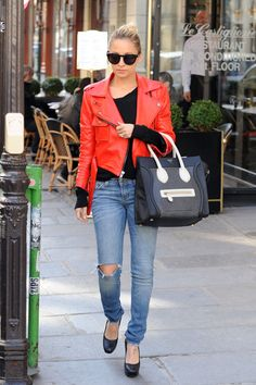 Google Image Result for http://www.upscalehype.com/wp-content/uploads/2011/03/Nicole-Richie-House-of-Harlow-1960-Sunglasses-Simone-red-Leather-Jacket-Celine-Mini-shopper-bag-3.jpg