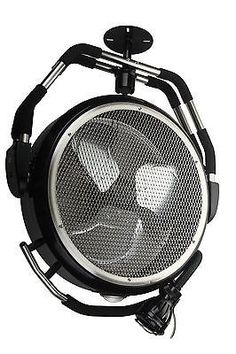 OceanAire High Velocity Garage Fan with Task Light