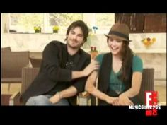 Funny moments with Ian,Nina and Paul from The Vampire Diaries - YouTube