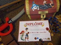 A Treasure Hunt Pirates and Mermaids - diplomas