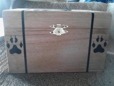 Greetings!    After well over 12 hours of work, its finally done!  This Wooden Wolf Box is Beautifully UNIQUE~ and its Absolutely Priceless  As you