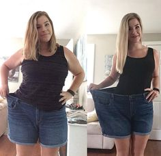 This girl drank 1-2 tablespoons of apple cider vinegar with Garcinia Cambogia and lost 37 lbs in one month!