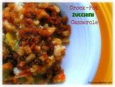 Crock-Pot Ladies Crock-Pot Zucchini Casserole
