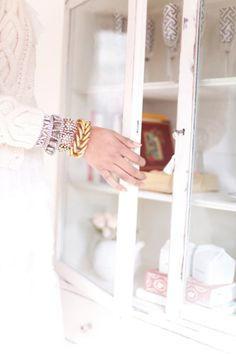 natural light + cream & sugar cabinet