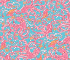 Lilly Pulitzer print. <3