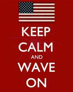 Leuk idee: drie schilderijtjes per land maken met een keep calm quote plus vlag