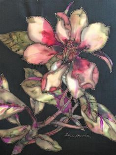 Suzanne Punch PAINTING ON SILK
