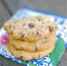 Banana Toffee Chocolate Chip Cookies