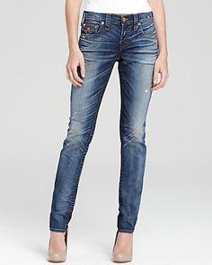 True Religion Jeans - Cameron Mid Rise Slim in Sem Defian Wash - Denim - Apparel - Contemporary - Bloomingdale's