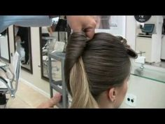 Traditional French twist and Modern messy braided bun. Teased Updo, Banana For Hair, Evening Hairstyles, Elegant Updo, Hair Brained, Braids For Long Hair, Cut And Color, Hair Dos, Cute Hairstyles