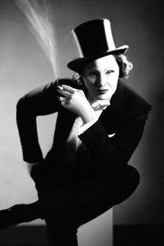 Jessica Lange as Marlene Dietrich