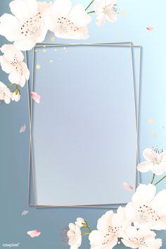 Framed Wallpaper, Flower Background Wallpaper, Pastel Wallpaper, Flower Backgrounds, Background Pictures, Wallpaper Backgrounds, Iphone Wallpaper, Cherry Blossom Wallpaper, Poster Background Design