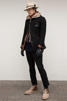The Soloist A W 2012 by Takahiro Miyashita Dandy Style, Style Me, The Soloist, Men's Grooming, Men Looks, Asian Men, Winter Collection, Mens Fashion, Fashion Trends