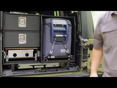Man's compact DIY camping kitchen system means better off-road cooking (Video) : TreeHugger