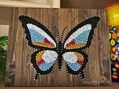 String Art DIY Crafts Kit. Save 10% off the purchase price of this Butterfly…