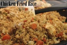 A family favorite – Chicken Fried Rice Recipe Rice Recipes, Asian Recipes, Cooking Recipes, Healthy Recipes, Chicken Fried Rice Recipe Easy, Chicken Recipes, I Love Food, Good Food, Taquero