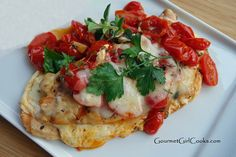 #LowCarb Grilled Caprese Grilled Chicken Shared on https://www.facebook.com/LowCarbZen