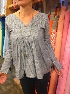 Sew Tessuti Blog - Sewing Tips & Tutorials - New Fabrics, Pattern Reviews: 'Tis the season for linen-love