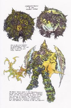 Floro Dery was the design supervisor for the original Transformers cartoon