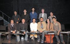A cast photo from the reading of Toypurina