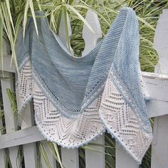 Partly Sunny Lace Shawl Knitting Pattern and more colorful shawl knitting patterns