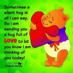 """Top 37 Winnie The Pooh Quotes for Every Facet of Life """"Winnie the Pooh can be quite the philosopher and many of his and his friends' sayings have a deep me Eeyore Quotes, Hug Quotes, Kissing Quotes, Winnie The Pooh Quotes, Winnie The Pooh Friends, Funny Quotes, Qoutes, Psalms Quotes, Year Quotes"""
