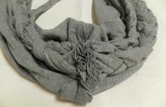 old tshirt scarf