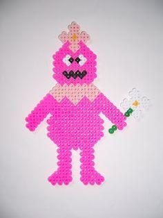 Foofa Yo Gabba Gabba! perler beads by Perler Princess