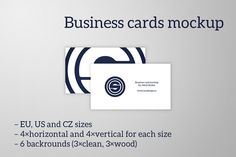 Business cards mockup by oosDesign on @creativemarket