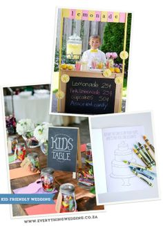 EASY WAYS TO KEEP KIDS BUSY AT A WEDDING