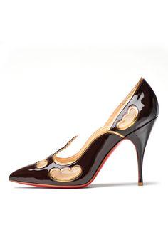 #shoes #high heels #Christian Louboutin