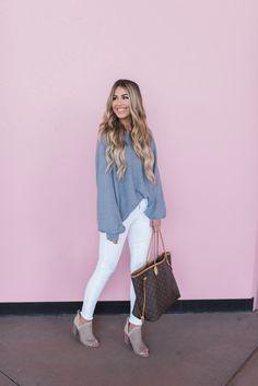 Slouchy Sweatshirt For Spring | Hollie Elizabeth | A Lifestyle, Fashion & Beauty Blog by Hollie Woodward