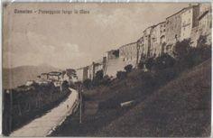 Camerino, passeggiata (un po' solitaria!) lungo le mura, 1920.