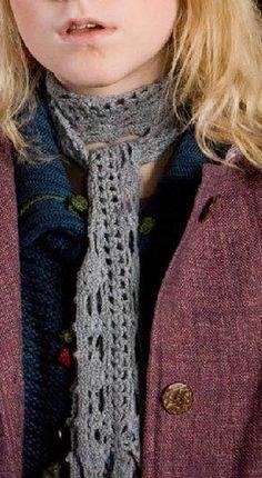 La sciarpa di Luna Lovegood in Harry Potter