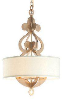 Olivia 6-Light Pendant, Brass